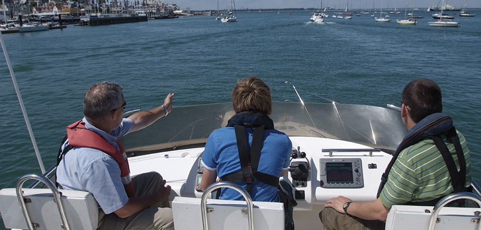 Professional Training For Motor Boats